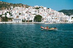 "Skopelos, Greece AKA ""Mamma Mia movie island"""