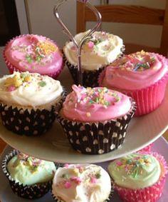 Classic Cupcakes Cup cakes de colores..