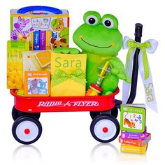 Let's Have Fun Reading Baby Wagon Gift Set