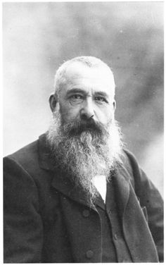Claude Monet - I am not an art expert nor art lover, for the most part, but I am happily stricken by Monet's work.