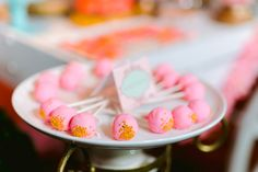 Dessert Tables, Amazing Cakes, Cake Pops, Macarons, Pink And Gold, Birthday, Sweet, Desserts, Food