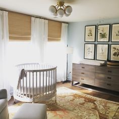 My clients are due with their first baby and just sent me photos of their newly installed #laurenliessparcel nursery project and I had to share!! Great job guys!! #cantwaittomeether #nursery