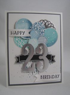 Number of Years & Large Number Framelits- Stampin' Up by Miechelle Weber www.stampinu.wordpress.com