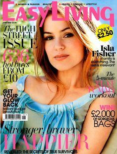 Isla Fisher • Easy Living, UK - June 2013