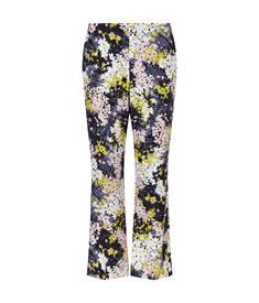 View the Wild Floral Selby Silk Trousers