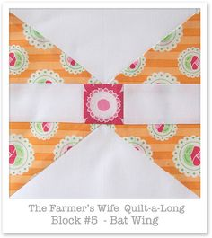 Farmer's Wife Quilt-a-Long - Block 5 by Happy Zombie, via Flickr
