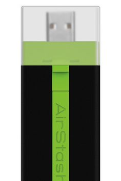 AirStash Drive can stream files via WiFi to smart phones and tablets
