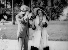 Harold Lloyd and Bebe Daniels in Bliss (1917) -