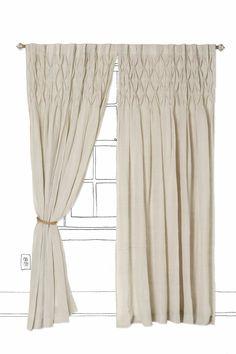 Master bedroom curtains...