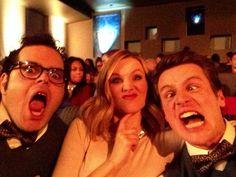 Josh Gad, Kristen Bell & Jonathan Groff from Frozen