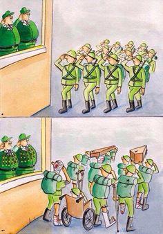 Diferencias entre militares