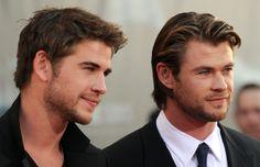 Liam e Chris Hemsworth
