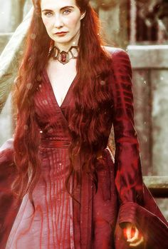 """stormbornvalkyrie:    ♕ Melisandre 