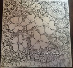 Zentangle flowers & circles!!!