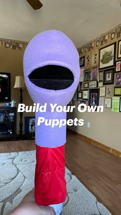 Ventriloquist Puppets, Diy Educational Toys, Puppet Patterns, Sock Puppets, Puppet Crafts, Puppet Making, Strong Body, Build Your Own, Pin Image