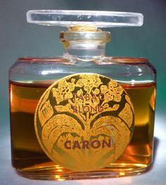 Vintage Caron LE TABAC BLOND EXTRAIT - 1 Oz. - Unsealed - No Box