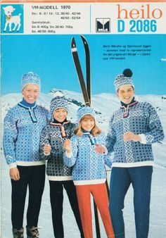 VM 1970 D 2086 Norwegian Knitting, Ol, Knitting Patterns, Sweaters, Outfits, Threading, Knit Patterns, Suits, Sweater