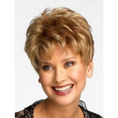 women with frosted gray hair | short pixie hair styles for women over 50 |