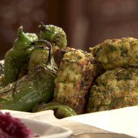 Herb and ginger fishcakes recipe - Yottam Ottolenghi. Made these with Sean recently,they were very dry and not all that flavoursome...