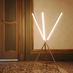 Lovely Linear Lighting // Design Trend, via Yellowtrace.