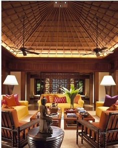 Bali, rich tropical style