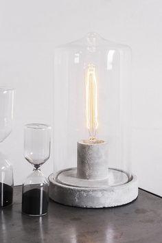Concrete lamp #ConcreteLamp