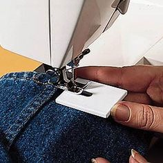 Makes Hemming Jeans A Breeze!