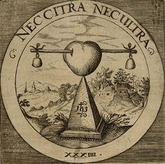 Neither on this side nor on the other Engraving Illustration, Illustration Art, Alchemy Art, Symbolic Representation, Spiritual Manifestation, Masonic Symbols, Occult Art, Demonology, Medieval Manuscript