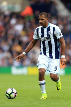 Salomon Rondon of West Bromwich Albion during the Premier League match between…