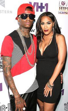 Splash pro ex surot Love And Hip, Love N Hip Hop, Tv Couples, Celebrity Couples, Hip Hop Atlanta, Soulja Boy, Hollywood Star, Boy Photos, Me Me Me Song