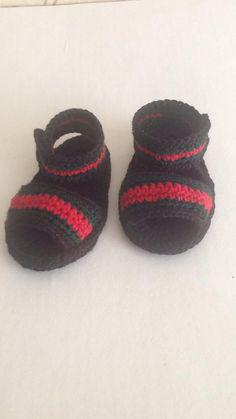 04e98d5cf76 Baby Sandals Crochet baby sandals Gucci by BABYCROCHETfashion ...