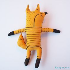 Fox Toy by Hiyakee