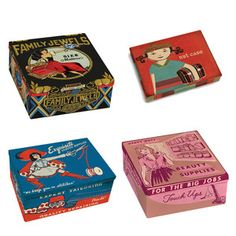 Family Boxes 4 Pack, $36, now featured on Fab.