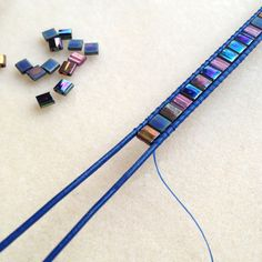 Tutorial and information on TIla Bead bracelet ~ Beading Jewelry Tutorials