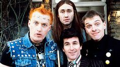 The Young Ones - this 80's BBC Comedy always makes me laugh & laugh & laugh