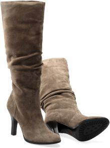Belfast -Stone Taupe Suede Boots (Sofft). Love these boots. Pretty AND comfy.