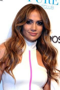 Jennifer Lopez parties after iHeartRadio performance