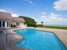 SEAGROVE OCEANFRONT HOME OFFERING 5 BEDROOMS.  Elegant oceanfront estate with 120' of frontage. 256 OCEAN WY, VERO BEACH, FL 32963