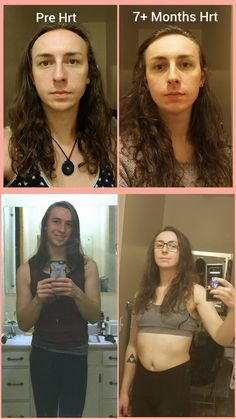 Hair long mtf transsexual young