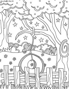 Free printable summertime coloring pages and printables.