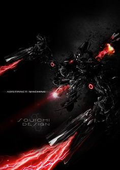 Abstract Machine02 - 河内 爽一 #manipulation #Photoshop #abstract #machine