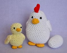Chicken Chick and Egg - $7.25 (CAD) by Lisa Bosch
