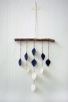 I love the simple charm of this beauty--no DIY instructions from the source, but I think this could be replicated quite prettily.  Lovely idea for a baby's room~