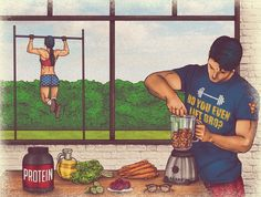 Superman, Batman & Wonder Woman: Comical illustrations that show how they stay fighting fit | Creative Boom