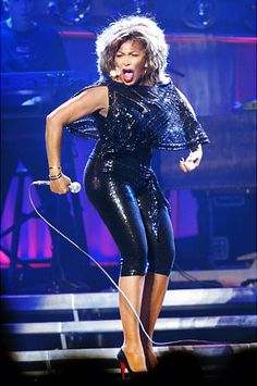 Anna Mae Bullock, better known by her stage name Tina Turner, is an American singer and actress whose career has spanned more than half a century, earning her widespread recognition and numerous awards. --Wikipedia  She turns 73 in 2012.