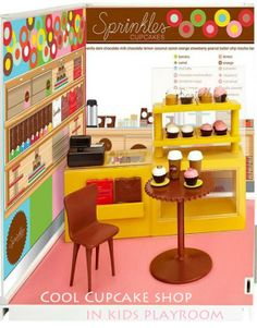 Sprinkles Cupcakes Shop In Your Kid's Playroom cupcakepedia, toys, christmas toys