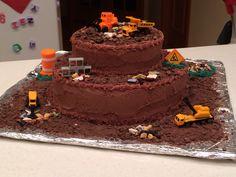Groundbreaking cake-construction