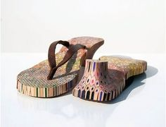 pencil shoes - a look at how the things we own define us by Lauren Milroy