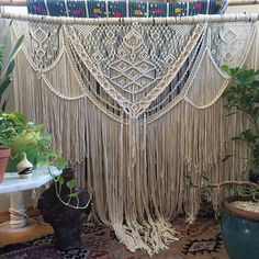 Macrame wall hangings and 100% cotton cord by NiromaStudio on Etsy