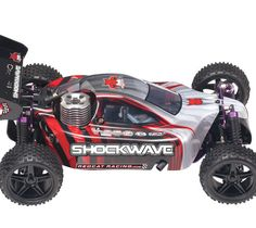 Shockwave 1/10 Scale Nitro RC Buggy RTR $184.95 http://hobbyzobby.com/product/shockwave-110-scale-nitro-rc-buggy-rtr-red-blue
